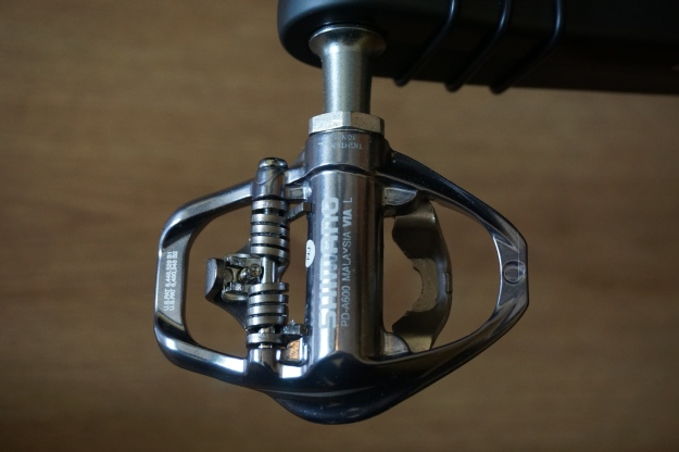Shimano PD A600 lado inferior.